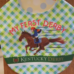 Babies First Kentucky Derby Bib