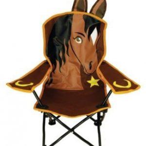 Horse Head Folding Chair