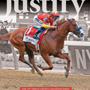 JUSTIFY COMMEMORATIVE BLOODHORSE BOOK