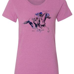 Art Secretariat Ladies T-Shirt