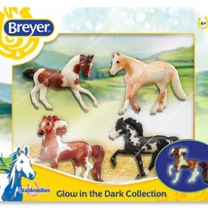 Glow In The Dark Breyer Pinto Set