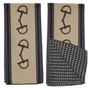 D-Bit Snaffle Kitchen Towel