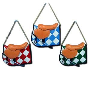 Jockey Saddle Ornament