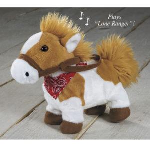 Paint Pony Animated Plush
