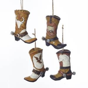 Cowboy Boot Ornament