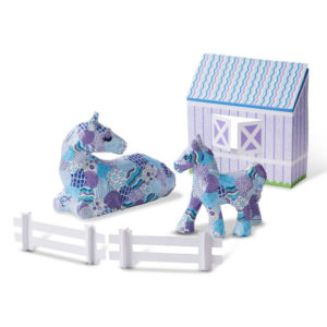 Horse and Pony Decoupage Set