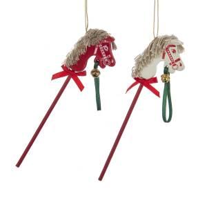Stick Horse Ornament