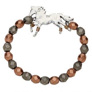 Galloping Horse Stretch Bracelet