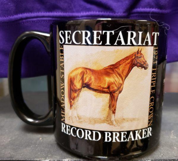 Secretariat Record Breaker 27oz Mug