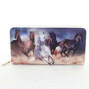 Horse zip wallet