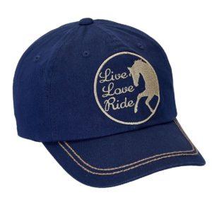 Live Love Ride Cap Navy