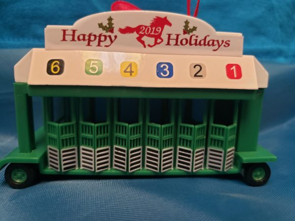 Starting Gate Happy Holidays Red