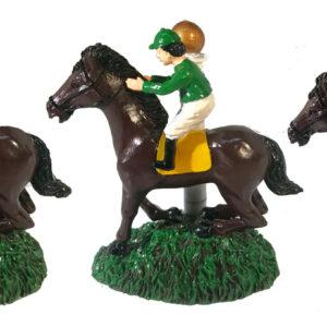 Racehorse and Jockey Figure