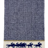 HORSERACING KITCHEN BLUE TOWEL