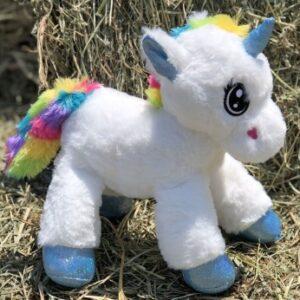 "Unicorn Plush 12"""
