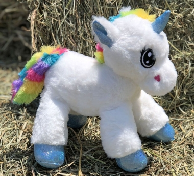 Unicorn Plush 12""