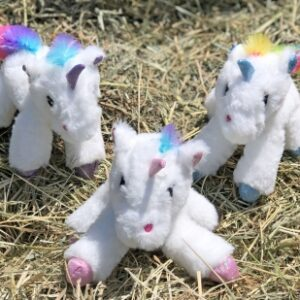 Unicorn Baby Rattle Plush