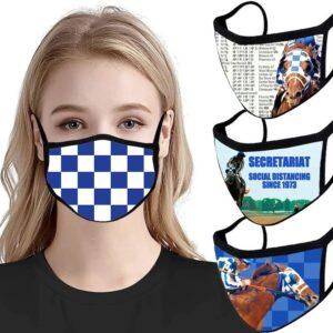 Secretariat Masks