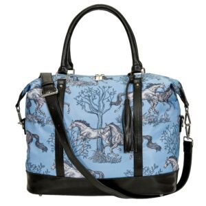 Galloping Horses Travel Bag