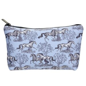 Galloping Horses Cosmetic Case