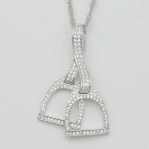 Double Stirrup Necklace