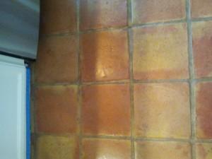 ca saltillo tiles before strip,clean,sealed 6