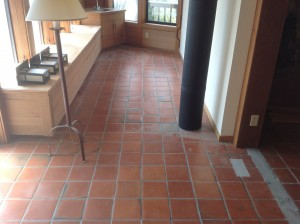 replacing mexican pavers