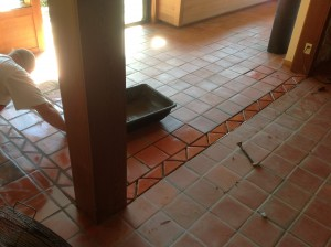 mexican paver grouting