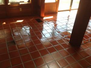 terracotta tiles repaired