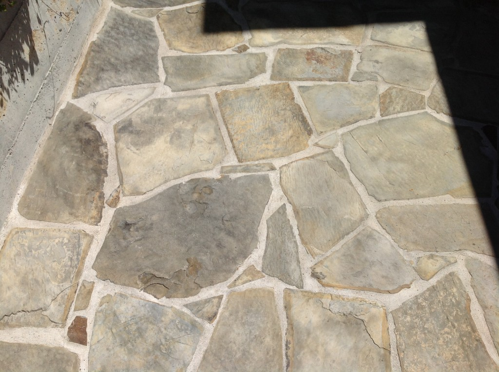 slate before sealed