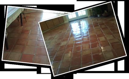 California Tile Restoration, California Tile Refinishers, Mexican Paver Restoration