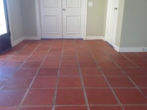 clean paver entryway