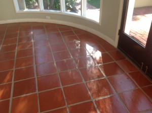 sealed paver entryway