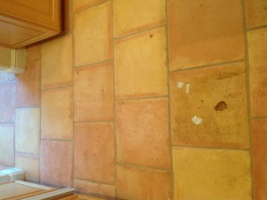cracked tile replacement