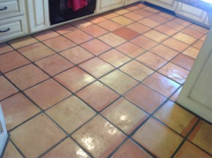 not maintained mexican pavers