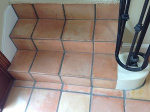 saltillo tile stairs ca