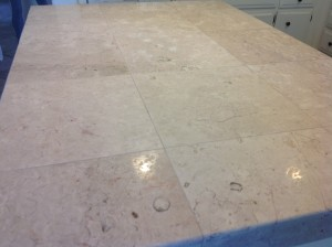 white dirty marble