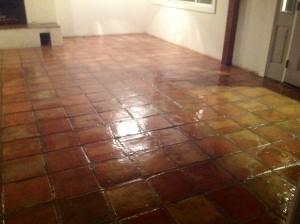 sealed saltillo tiles redlands ca