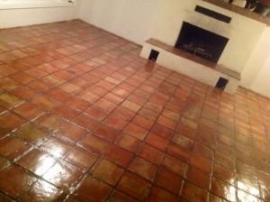 sealed saltillo floor redlands ca