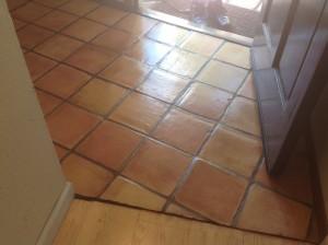 saltillo tile entrance