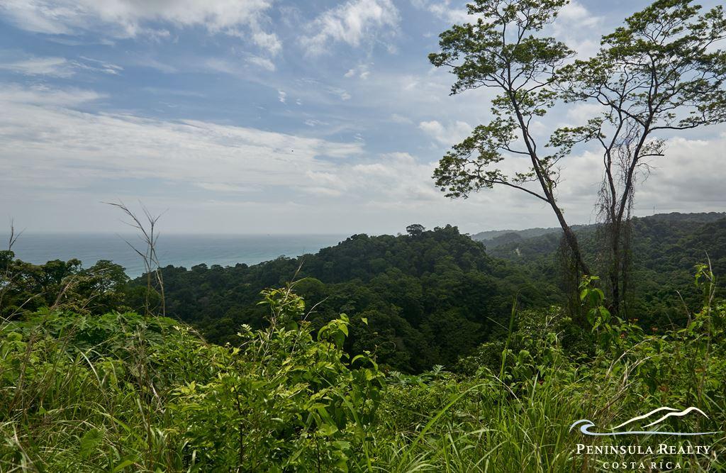 Mal Pais scenic oceanview lot