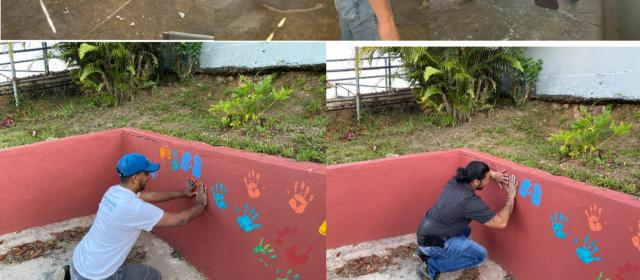 Actividad en Escuela Aguas Buenas