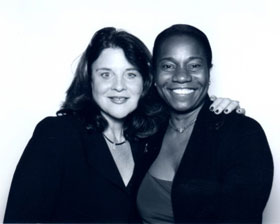 Dr. Jennifer Mieres and Karen Amster-Young Red Dress Awards