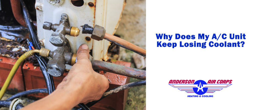Reasons Why Your AC System Loses Coolant