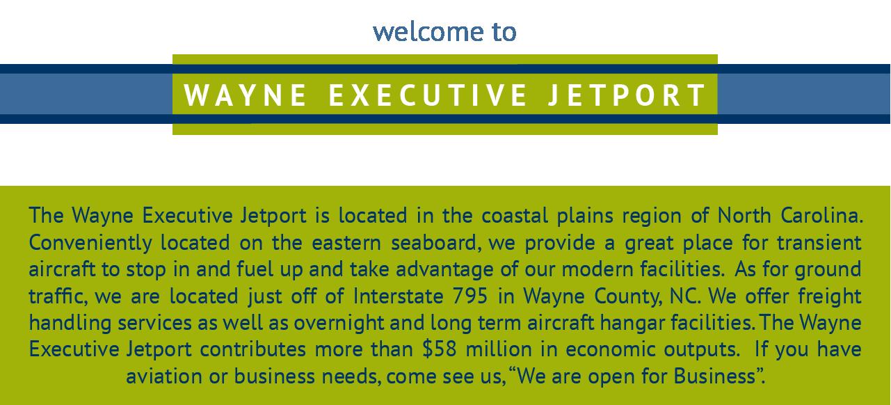 Welcome to Wayne Executive Jetport