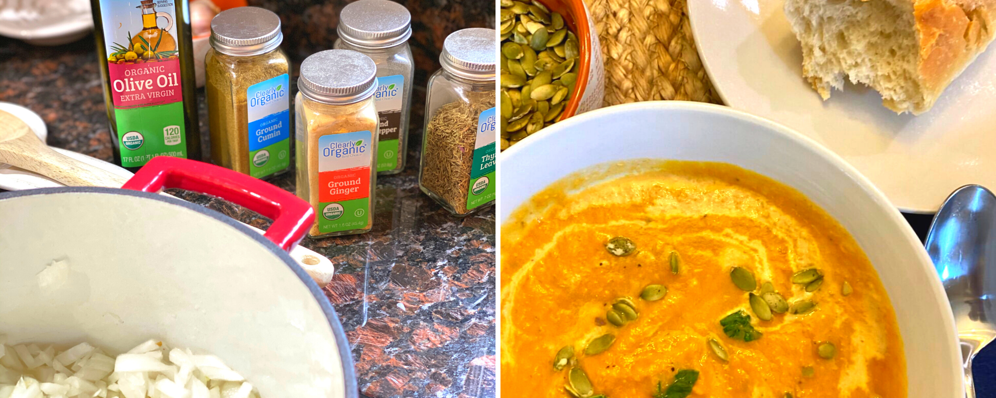 Easy Homemade Pumpkin Soup