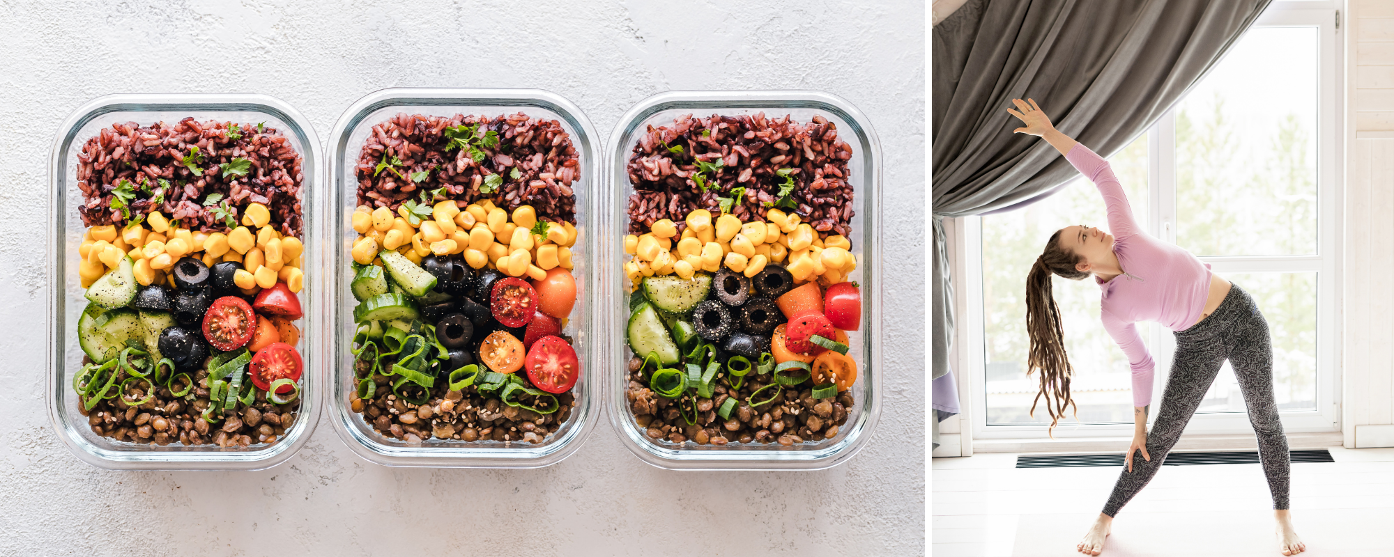 Healthy Resolutions: Meal Prep & Exercise
