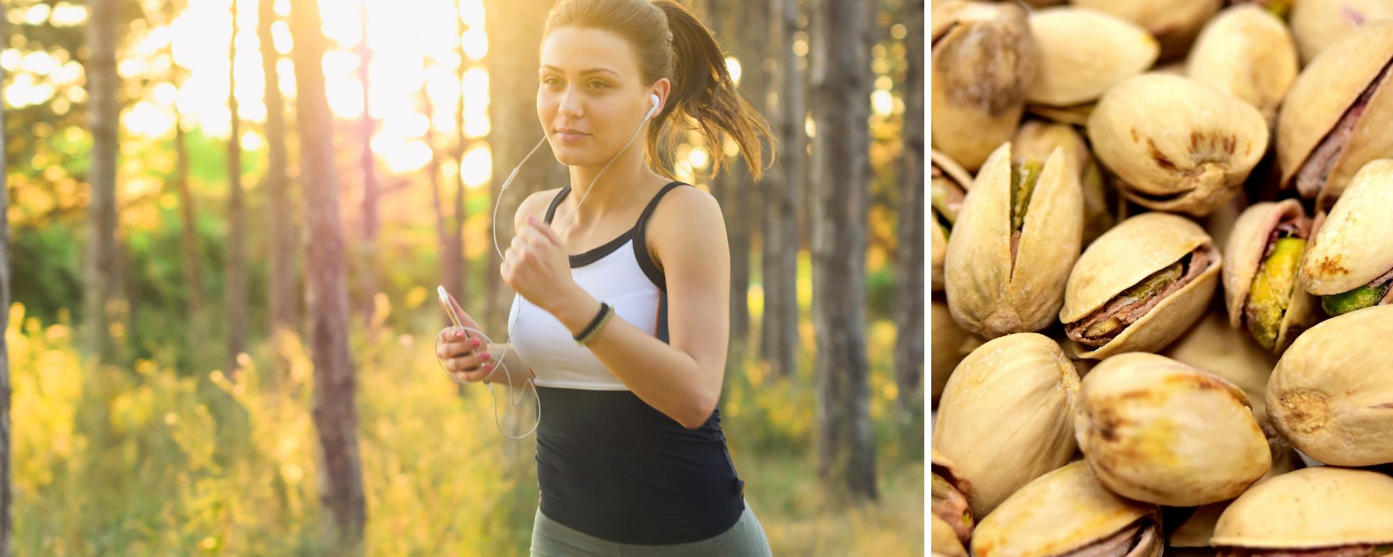 Blood pressure: exercise & pistachios