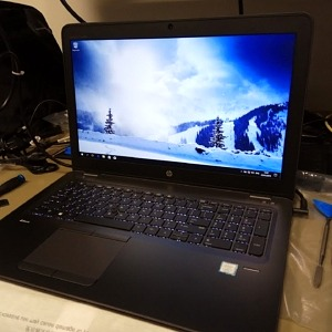 hp z book laptop