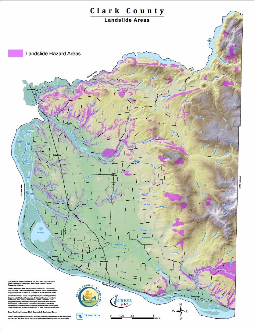 Clark County Landslide Hazard Area